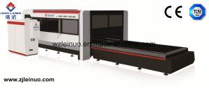 500W Sheet Metal Fiber Laser Cutter with Exchange Platform