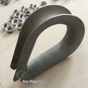 Great Quality HDG Drop Forged Wire Rope Thimble pictures & photos