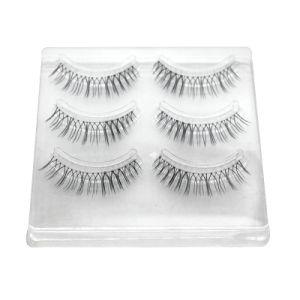 Long Eyelashes with Fake Eyelashes False Eyelashes with Length of 15mm pictures & photos