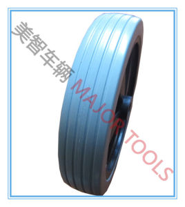 Flat Free Wheel PU Foam Wheel for Wheelbarrow The Wheelchair Wheel pictures & photos