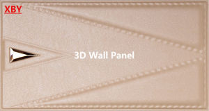 Acoustic Wall Panel 300*600 Wall Cladding Wall Title Decoration 3D Wallpanel pictures & photos