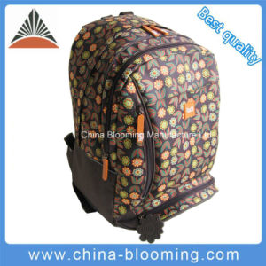2 Compartments Polyester School Student Backpack Bag pictures & photos