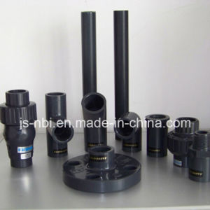 Black PVC Pipes and Fitting Series pictures & photos