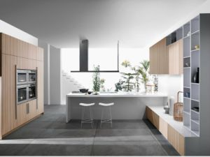 Hot Sell Modular Melamine Kitchen Cabinet pictures & photos