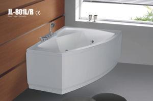 Hot Style Acrylic Corner Massage Bath Tub (JL801L/R) pictures & photos