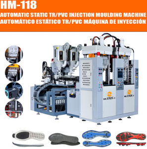 Full-Automatic 2 Station 2 Color TPU/ TR /PVC Sole Machine pictures & photos