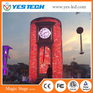 Full Color Cylinder/Round/Curved LED Display Panel pictures & photos