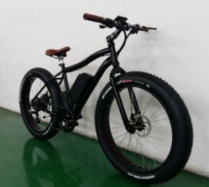 26*4.0 Tire 48V500W Samsung Battery Big Power Electric Fat Bike (TDE05Z)
