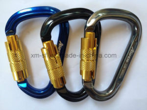 Alu Alloy D-Shaped Climbing Carabiner pictures & photos