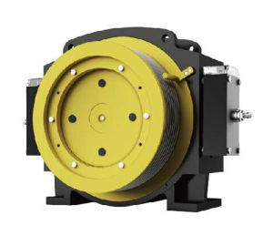 Elevator Gearless Traction Machine for Residential Elevator Parts pictures & photos