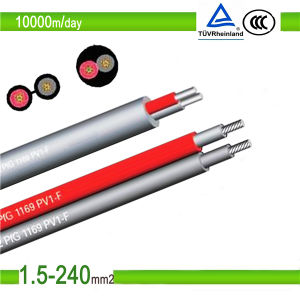 TUV Certificate PV Solar Cable 4mm2 6mm2 Manufacturer pictures & photos