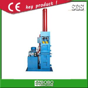 Hydraulic Vertical Metal Can Baling Machine pictures & photos
