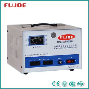 Power Supply Single Phase SVC-500va Automatic Voltage Stabilizer pictures & photos