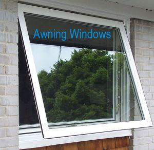 Kpc49 Seris Aluminium Glass Top Hung Outward Open Windows pictures & photos