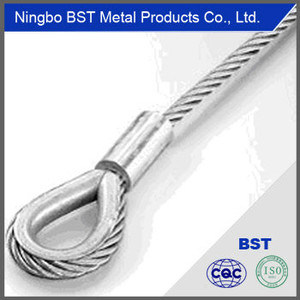 Bst Steel Wire Rope Slings pictures & photos