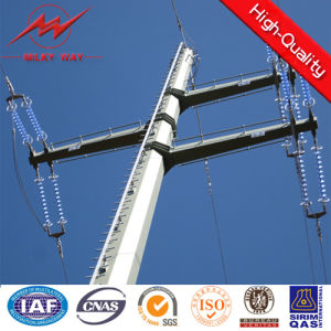 25FT-75FT Galvanized Steel Power Pole with Stepped Bolt pictures & photos