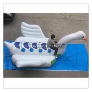 Creative Designed Swan Replica Inflatable Banana Ship Good Price