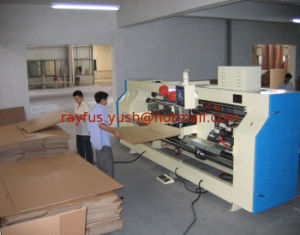Double-Servo Pedal Stitcher of Corrugated Carton Box Making Machine pictures & photos