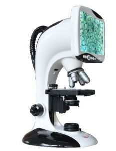 Med-L-T Series Multifunction Digital LCD Microscope (Blue, Green, Red & Black) pictures & photos