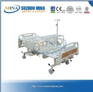 Economic Hospital Two Crank Backrest for Bed (MINA-MB104-B)