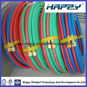 Twin Line Welding Hose for Korea pictures & photos