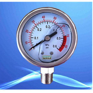 High Quality Hydralic Pressure Gauge, Manometer Oil Pressure Gauge