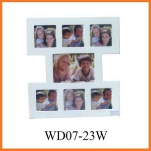 White Multi Collage MDF Photo Frame (WD07-23W) pictures & photos