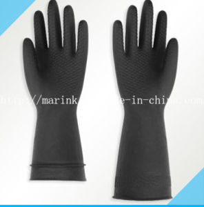 D Series Light-Duty Natural Latex Rubber Glove pictures & photos