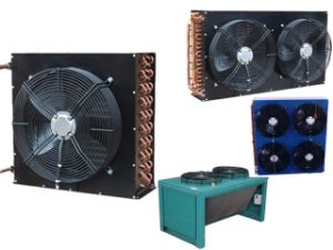 Black Colour Copper Condenser with Fan Cover pictures & photos