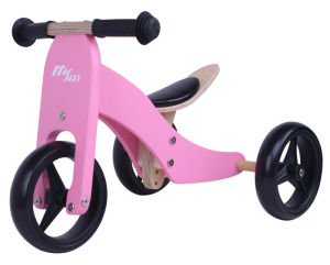 2017 Wholesale Wooden Balance Mini Bike 2 in 1for Toddlers, High Quality Wooden Balance Mini Bike for Baby pictures & photos