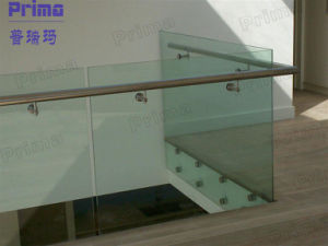 Interior Customized Stainless Steel, Glass Balustrade Design pictures & photos