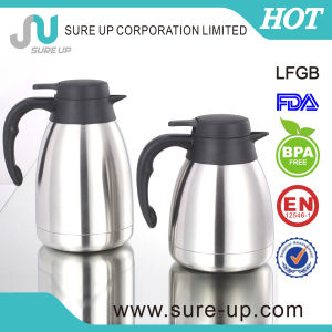 2014 New Designdouble Wall Stainless Steel Coffee Pot /Water Jug (JSUV) pictures & photos