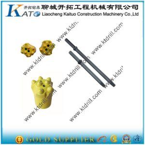 34mm/36mm /38mm 7 Buttons 22mm Shank Carbide Taper Button Bit pictures & photos