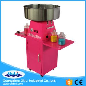 2016 Hot Sale Professional Electric Automatic Flower Candy Floss Maker Cotton Candy Machine with Cart Price pictures & photos