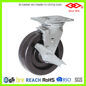 Swivel Plate with Brake Heavy Duty Caster (P701-61D100X50S) pictures & photos