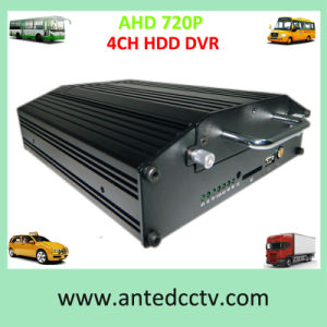 4CH Ahd Full 720p Hard Disk GPS 3G/4G WiFi Mobile DVR for Bus Truck pictures & photos