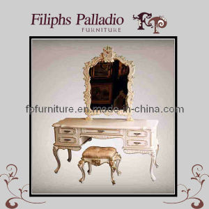 Luxury European Bedroom Furniture - European Dressing Table (1600ZT)