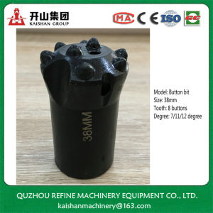 38mm 8 Tooth Tapered Hard Alloy Drill Bit for Mining pictures & photos