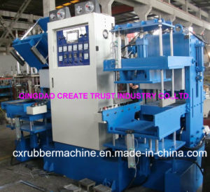 Full Automatic Control Rubber Vulcanizing Machine with Double Staion pictures & photos