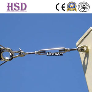 Marine Hardware Rigging AISI304/316 DIN1480 Hook-Eye Turnbuckle with Factory Certificate pictures & photos