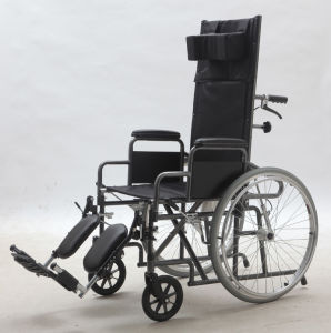 Steel Manual, Reclining Functional Comfortable, Wheelchair, (YJ-011E) pictures & photos