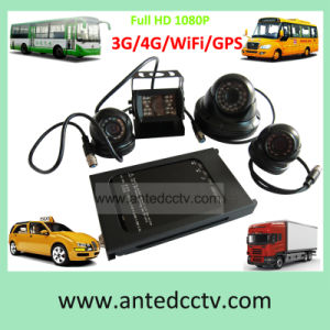 4 Channel Vehicle CCTV Systems of SD Card Mobile DVR & HD Camera pictures & photos