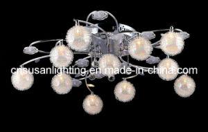 Modern LED Crystal Ceiling Light (MX8208/10+1)
