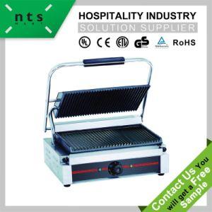 Electric Contact Grill (Top & Down Grooved Plate) pictures & photos