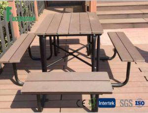 WPC Composite Outdoor Table for Park & Garden Decoration pictures & photos