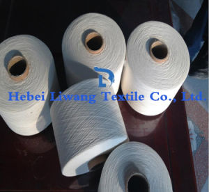 Ring Spun Polyester Yarn for Weaving and Knitting Yarn Single Yarn