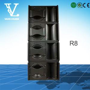 R8 Single 8inch 2-Way PRO Passive Mini Loud Speaker Audio