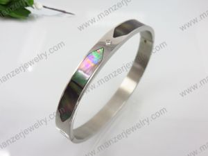 New Design Stainless Steel Fashion Natural Shell Bracelet