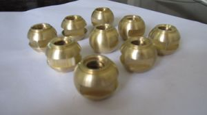 Cylindrical CNC Machining Brass Gear pictures & photos