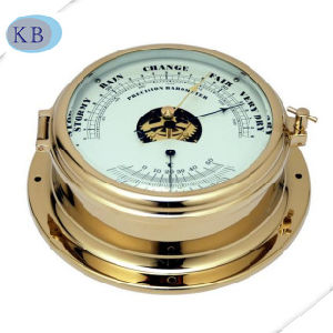 Best Quality Brass Nautical Barometer and Thermometer pictures & photos